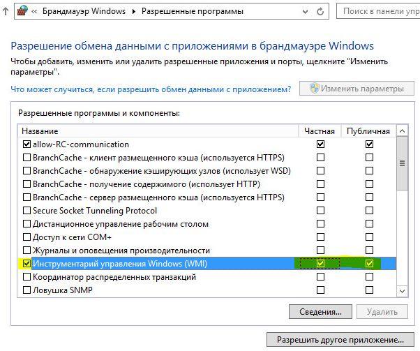 rc-agent-wmi Инструментарий управления Windows (WMI)